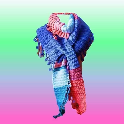 Makerist - Blümchen  Schal häkeln - Häkelprojekte - 1