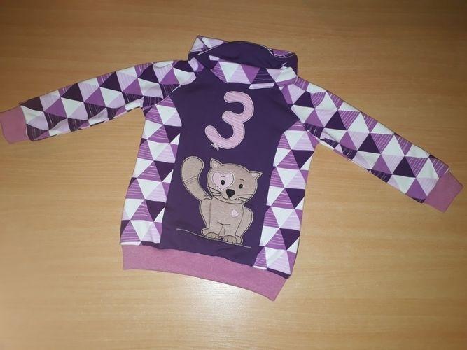 Makerist - Mieze fürs Geburtstagsshirt - Nähprojekte - 1