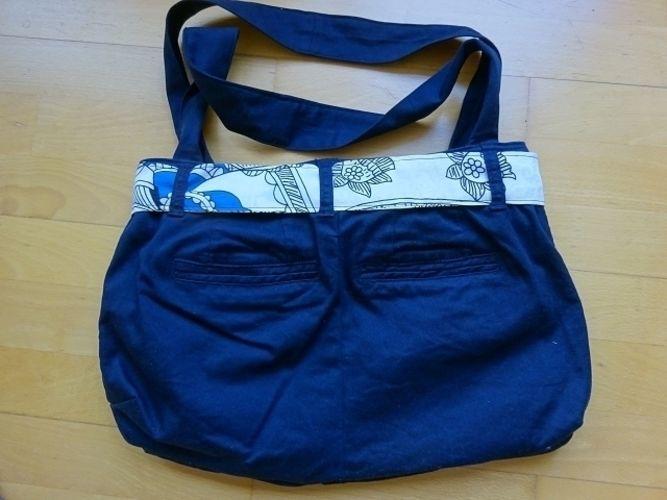 Makerist - Eine Handtasche aus meiner ausgedienten Hose - Nähprojekte - 2