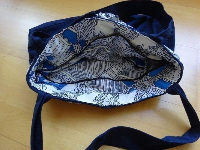 Makerist - Eine Handtasche aus meiner ausgedienten Hose - Nähprojekte - 3