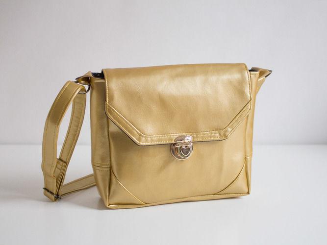 Makerist - Kindertasche in Gold - Nähprojekte - 1