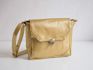 Makerist - Kindertasche in Gold - 1