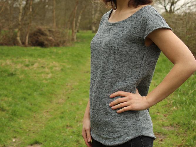 """Makerist - Shirt """"Stella"""" - Nähprojekte - 1"""