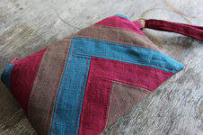 Makerist - Clutch Maira made from linen fabric - 1