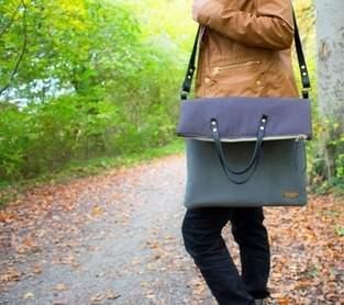 Makerist - Tasche Carry mit Lederriemen - 1