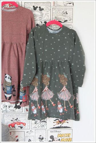 Makerist - Raglan-Kleid aus Bordürenjersey - Nähprojekte - 2