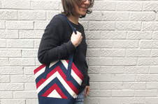 Makerist - Handtasche im Patchwork-Look - 1