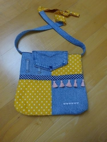 Makerist - Upcycling-Handtasche - Nähprojekte - 1