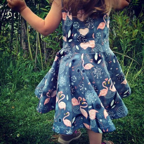 Makerist - Jerseykleid Marisa - ein traumhaftes Drehkleid 💗  - Nähprojekte - 1
