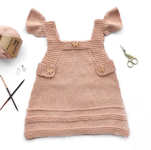 Makerist - Babykleid Tunika Amidala von der Verenazeitschrift - Strickprojekte - 1