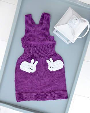 Makerist - Babykleid mit Häschentaschen - 1