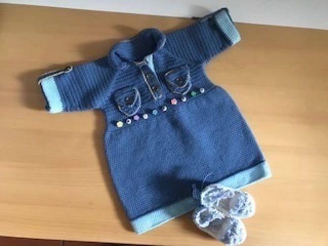 Makerist - Jeanskleidchen - Häkelprojekte - 1