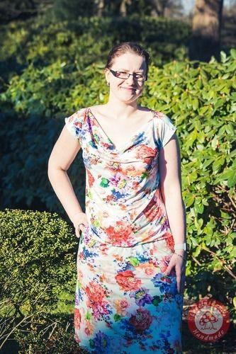 Makerist - Wasserfallkleid/ Shirt Clary von DREIEM'S - Nähprojekte - 1