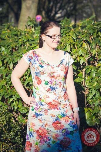 Makerist - Wasserfallkleid/ Shirt Clary von dreiems - Nähprojekte - 2