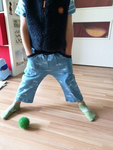 Makerist - 3/4 Jeans Größe 104 - Nähprojekte - 2
