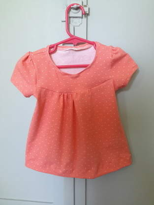 Makerist - Chemise girly en 3 ans - 1