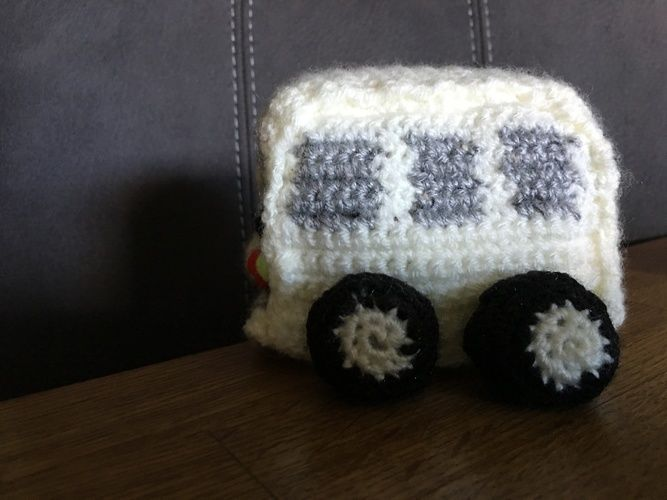 Makerist - Vw T3 Bus; Wolle; für Groß und Klein - Häkelprojekte - 3
