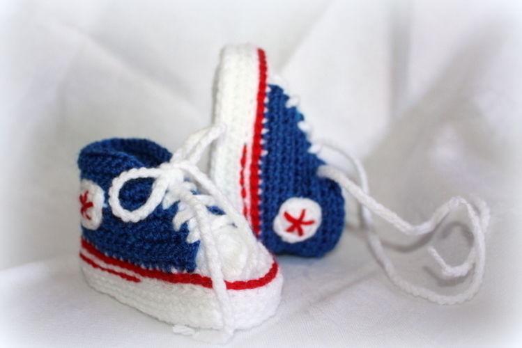 Makerist - Turnschuhe fürs Baby - Häkelprojekte - 2