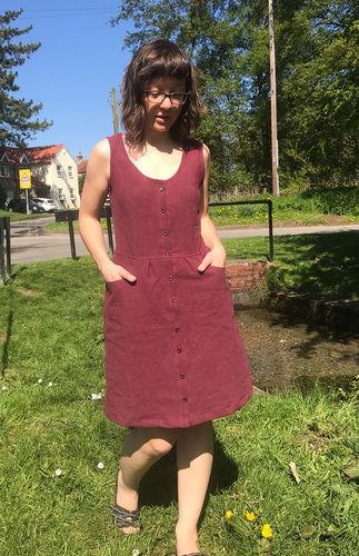 """Makerist - Kleid """"Tuva"""" aus Ramie - Nähprojekte - 1"""