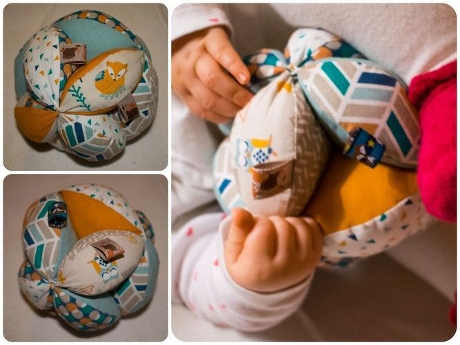 Makerist - Knuddelball für die Nichte - Nähprojekte - 1