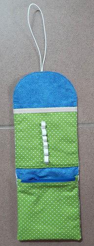 Makerist - Täschchen Periodensystem - für eine Mountainbikerin - Nähprojekte - 3