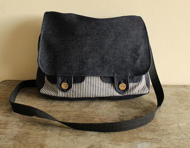 """Makerist - Tasche """"Ajan"""" - Nähprojekte - 1"""