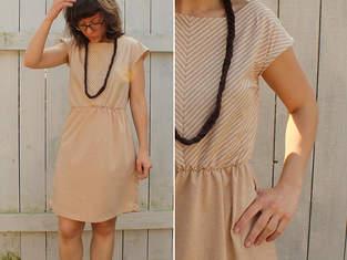 Makerist - Sommerkleid mit Schrägstreifen - 1