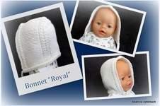 "Makerist - Bonnet ""Royal""  - 1"