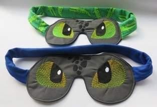 Makerist - Dinoschlafbrillen für Mutter und Sohn - 1