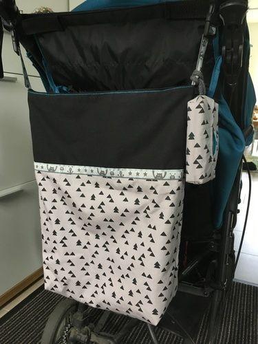 Makerist - Stoffbeutel Emma als Kinderwagentasche - Nähprojekte - 1
