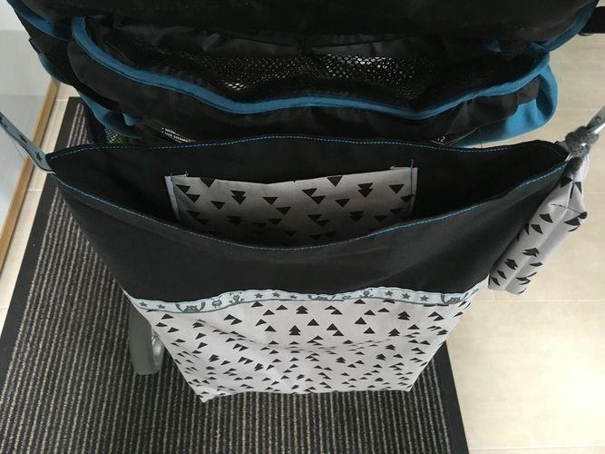 Makerist - Stoffbeutel Emma als Kinderwagentasche - Nähprojekte - 2