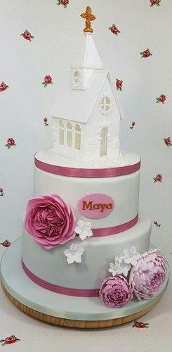 Makerist - Konfirmationstorte für Maya - Torten, Cake Pops und Cupcakes - 1