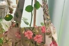 """Makerist - Handtasche """"Romantische Rosen"""" - 1"""