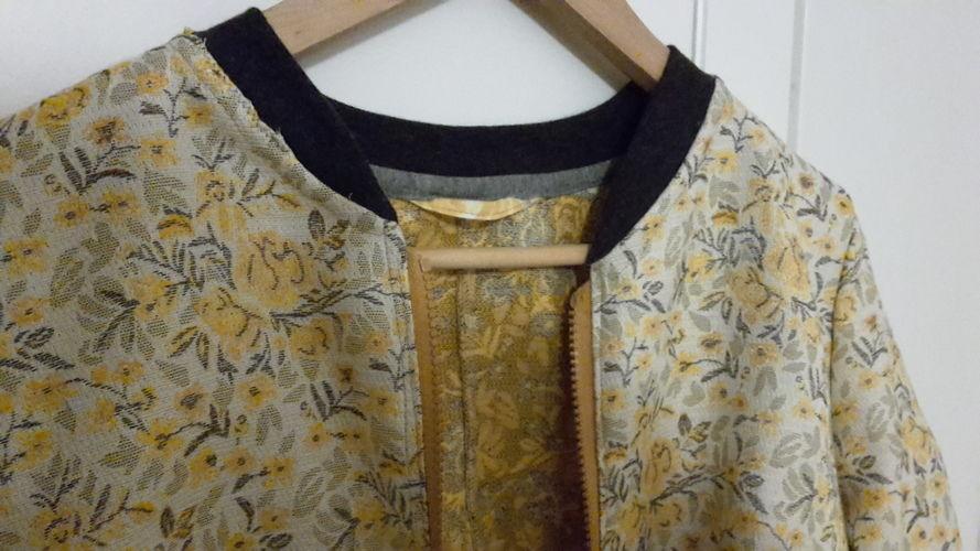 Makerist - Kurze Clarice Jacke im Blouson-Stil - Nähprojekte - 3
