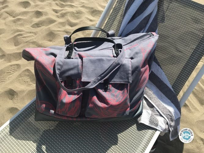Makerist - BABABAG Beach Bag - Strandtasche - Nähprojekte - 1