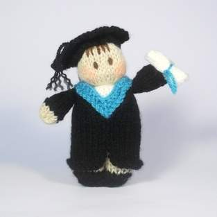 Makerist - Graduation Bitsy Doll - 1