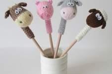 Makerist - Farmyard Pencil Toppers - 1