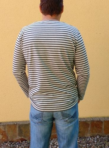 Makerist - Herren-Langarmshirt Matteo aus Streifen-Jersey - Nähprojekte - 2