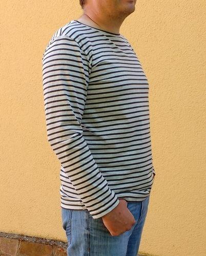 Makerist - Herren-Langarmshirt Matteo aus Streifen-Jersey - Nähprojekte - 3