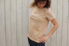 """Makerist - Shirt """"Lova"""" mit Unterteilung - 1"""