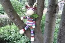 Makerist - Gigi la girafe en cotton fun pour Aymeric mon petit fils  - 1