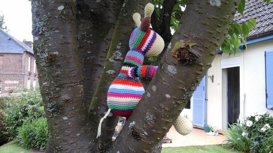 Makerist - Gigi la girafe en cotton fun pour Aymeric mon petit fils  - Créations de crochet - 2