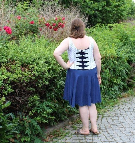 Makerist - Miss Marisa - Das Wohlfühl Jersey Kleid für Damen - Nähprojekte - 2