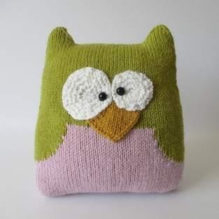 Makerist - Owl Cushion - 1