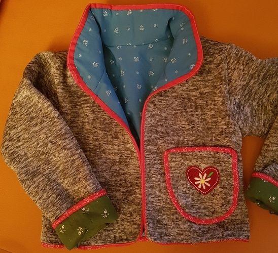Makerist - Trachten-Janker für meine Enkeltochter - Nähprojekte - 1