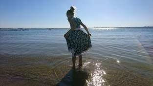 Makerist - Phia's Sommertraum von PhiBobo's Zaubernadel. Aus Jersey genäht, für meine Tochter  - 1