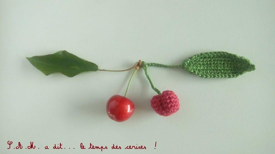 Makerist - S.A.M. a dit... le temps des cerises ! - Créations de crochet - 2