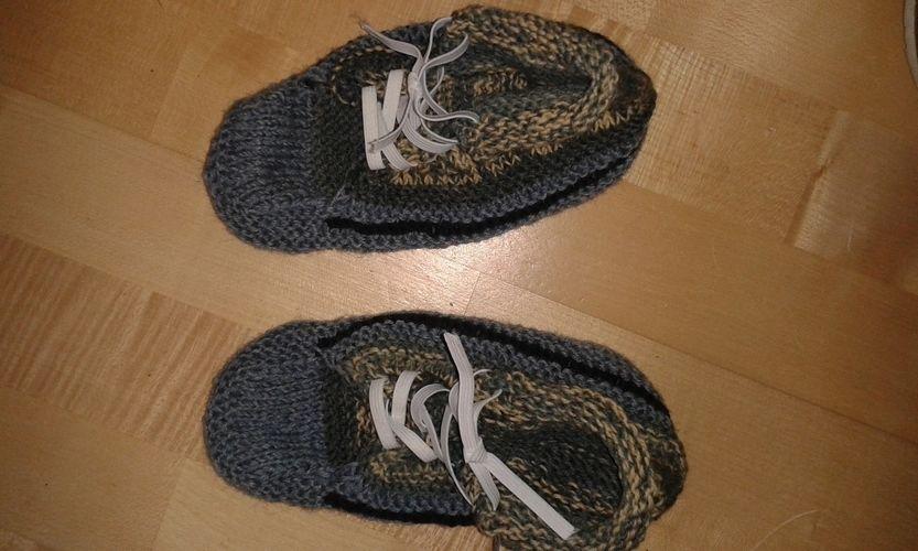 Makerist - Sneakers-Socken - Strickprojekte - 1