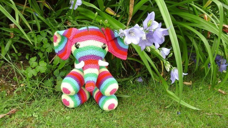 Makerist - Patapouff l'éléphant  au crochet pour ma petite nièce choupy  - Créations de crochet - 1