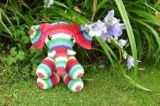 Makerist - Patapouff l'éléphant  au crochet pour ma petite nièce choupy  - 1
